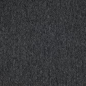SPARTA houtskool 50x50cm tapijttegel project kwaliteit bouclé tapijt 5m2 / 20 tegels