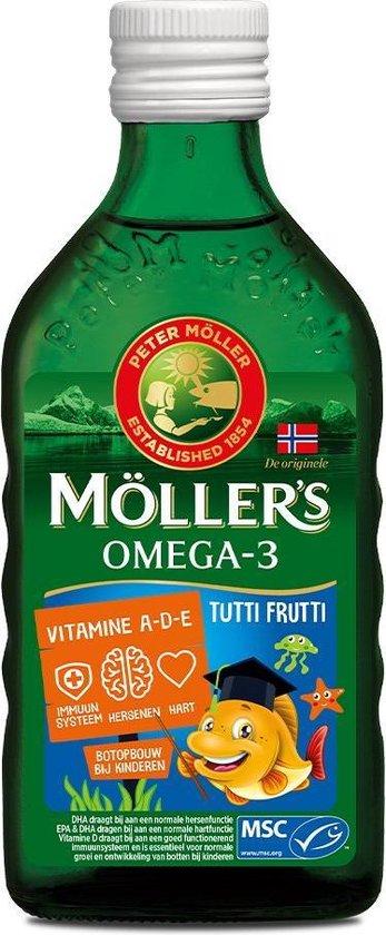 Mollers Omega-3 tutti frutti - 250ml - Visolie - Voedingssupplement