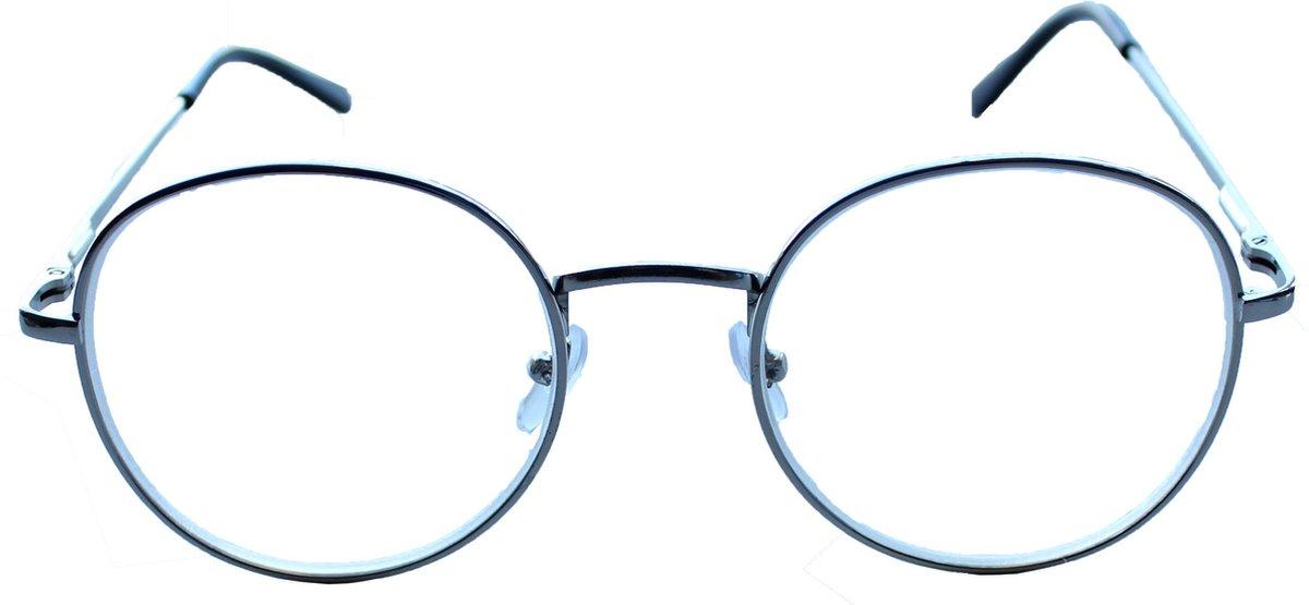 Oculaire | Johann| Zilver| Min-bril | -1,00 | Rond | kopen