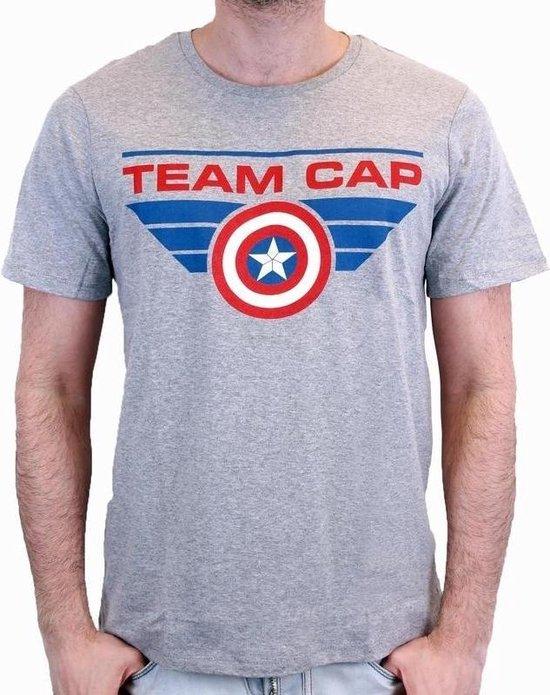 CIVIL WAR - T-Shirt TEAM CAP - Grey (XXL)
