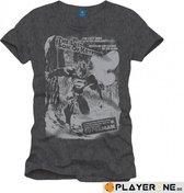 SUPERMAN - T-Shirt Destruction Grey (XXL)