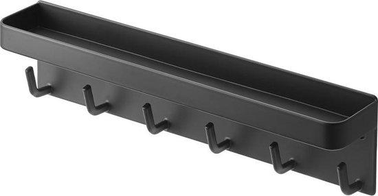 Yamazaki Sleutelrekje Sleutelhouder - Smart zwart - staal