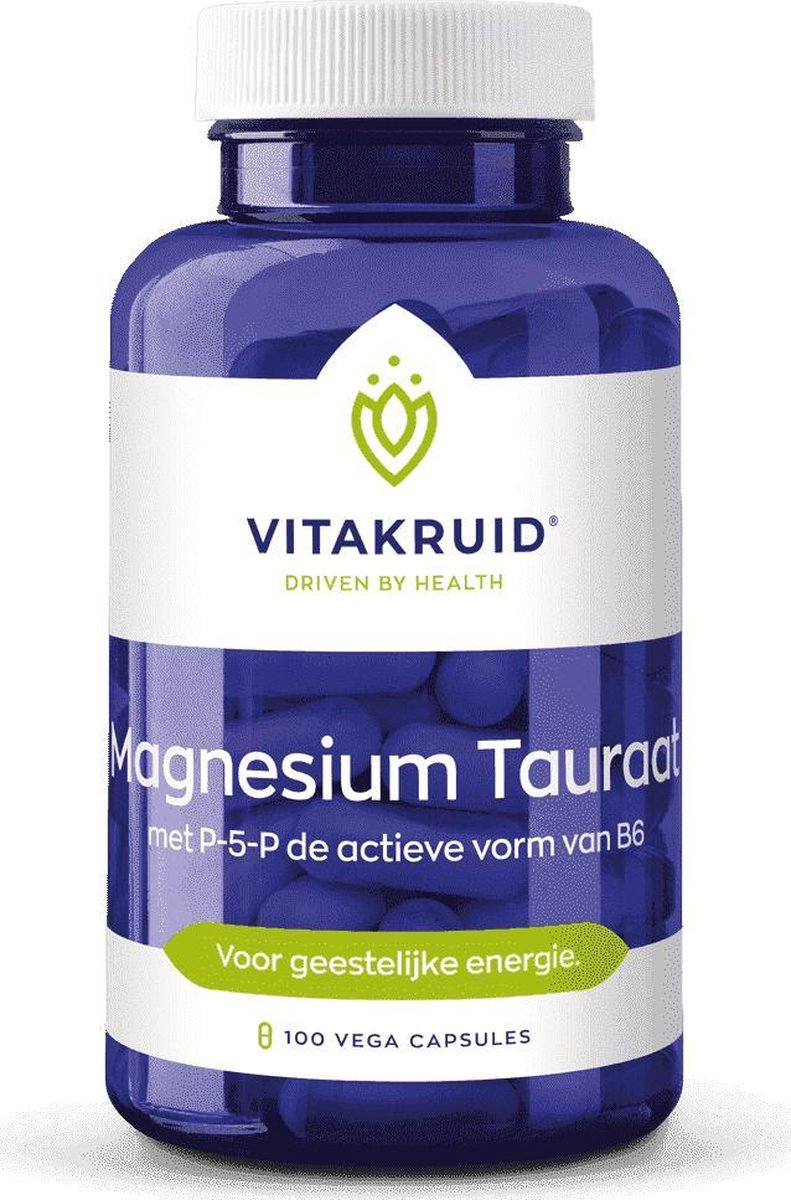 Vitakruid Magnesium Tauraat B6 150 vegacaps