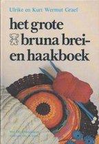 Grote bruna brei en haakboek