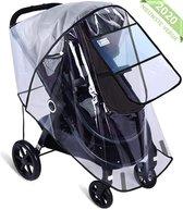 Nince Regenhoes Kinderwagen van Hoge Kwaliteit - Universeel Wandelwagen Regenbescherming met Kijkvenster