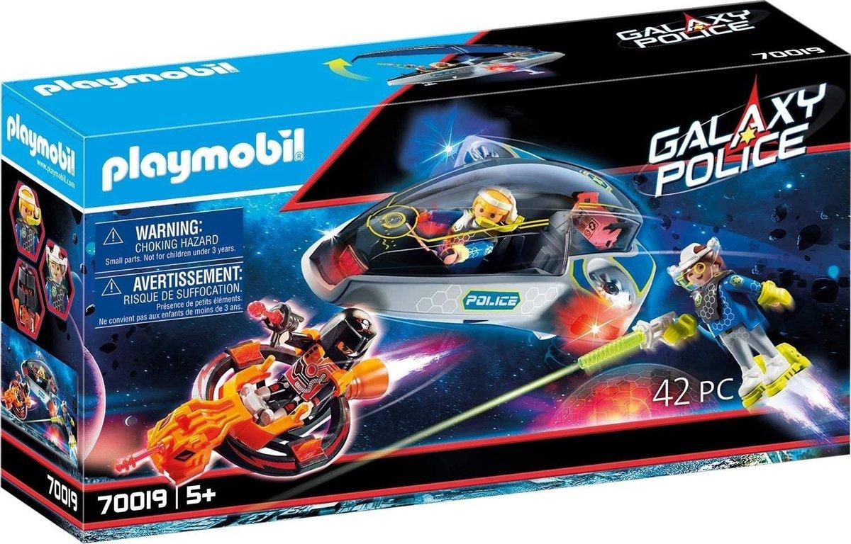 PLAYMOBIL Galaxy Police Galaxy politie glider - 70019
