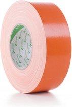Nichiban 1200 Duct Tape 50mm/50m Oranje - Originele Gaffa Tape Oranje