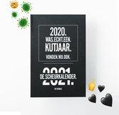 Afbeelding van RUMAG Scheurkalender 2021 Zwart