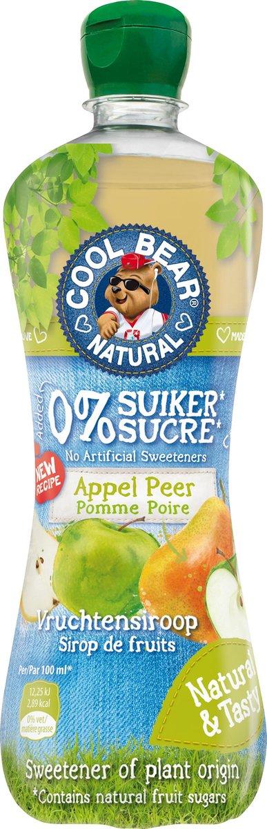 Cool Bear siroop appel & peer