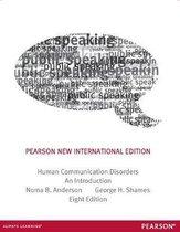 Human Communication Disorders: Pearson New International Edition