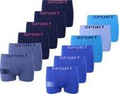 Microfiber Boxershort jongens SJ60 - Jongens ondergoed - VOORDELIGE 12 PACK 10-12 jaar 146/158