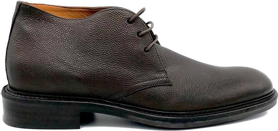 Gant Brooks heren veterschoenen - Dark Brown Leather - Maat 46