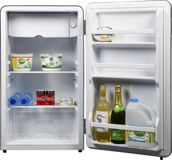 Koelkast: Salora CUBE RB 93 koelkast Vrijstaand Zwart 93 l A+, van het merk Salora