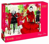 Iconic: 1000-Piece Puzzle: The Masters of Italian Fashion