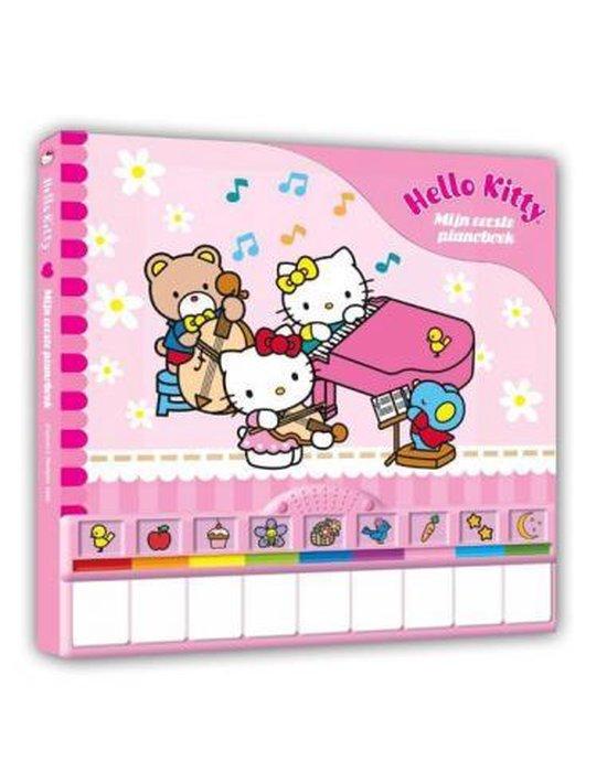 Boek cover Hello Kitty Mijn Eerste Pianoboek van nvt (Hardcover)