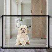 Membeli Oprolbaar Traphekje Zonder Boren 110x74 cm - Traphekje Klembevestiging Hond - Traphekje Opvouwbaar - Zwart