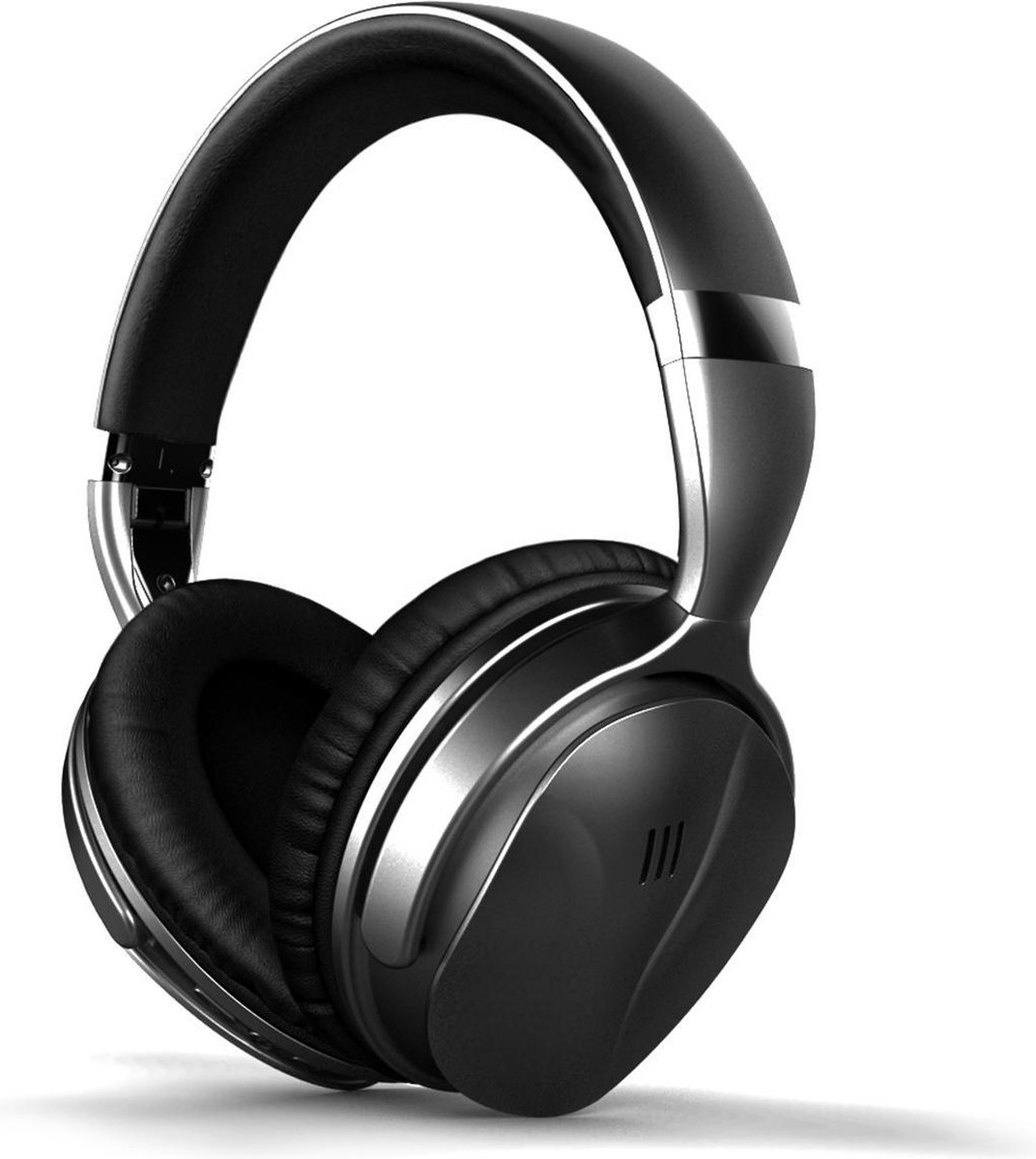 YONO Noise Cancelling Hoofdtelefoon ANC80 – Over-Ear Koptelefoon Bluetooth – Draadloos – Zwart
