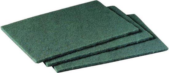 Maus schuurlapjes groen 50 stuks - Professionele schuurpads middelgrof 225x150mm schuurvlies