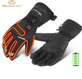 Warmspace - Verwarmde Handschoenen - Verwarmde Skihandschoenen - Verwarmde Handschoen - Handschoenen met Verwarming - Elektrische Handschoenen - Verwarmde Handschoenen met Oplaadbare Accu - Motor Handschoenen - Scooter Handschoenen - Zwart - M/XL