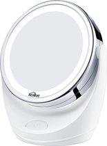 Kealive Make-upspiegel Dubbelzijdig (1x / 5x vergroting) 360 ° draaibaar met LED-verlichting Make-upspiegel Cosmetische spiegel voor make-up en huidverzorging