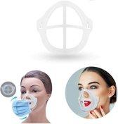 Bracket 3D voor mondmasker - 1 stuk - vergemakkelijkt ademhaling - beschermt make up - lipstick - lipgloss - herbruikbaar - GEAR3000®