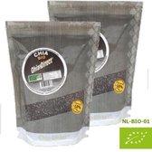 rauwe 100% natuurlijke chia zaad 1kilo - prijs incl verzendkosten