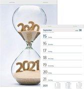 Afbeelding van Castelli weekkalender 2021 - geniet - klein formaat