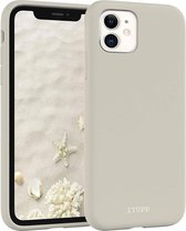 IYUPP iPhone 11 Siliconen Hoesje Grijs – Full Body – Premium