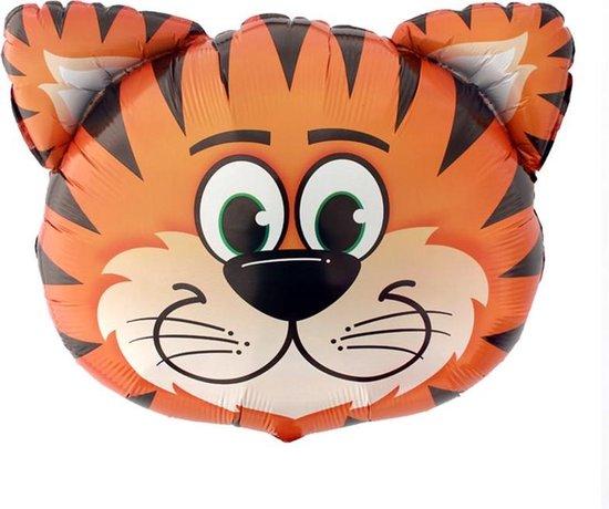 Safari versiering – Tijger – Folieballonen – Jungle decoratie