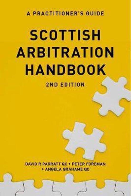 Scottish Arbitration Handbook