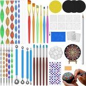 Hobbycave® Mandala Dotting Tools - Starter Set - 59-delig