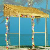 Amscan Hut Tiki Bar 52 X 132 Cm Kunststof/papier Lichtbruin