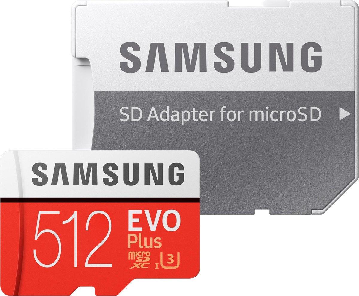 Bol Com Samsung Evo Plus Microsdxc 512gb Met Adapter