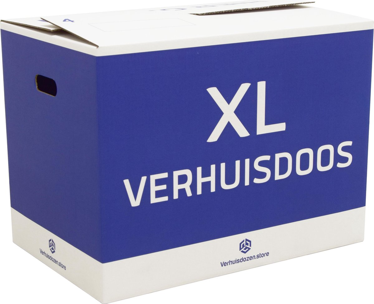 XL Verhuisdozen Professioneel - 10 stuks - 96 Liter - Extra stevig - Automatisch opzetbaar - Direct