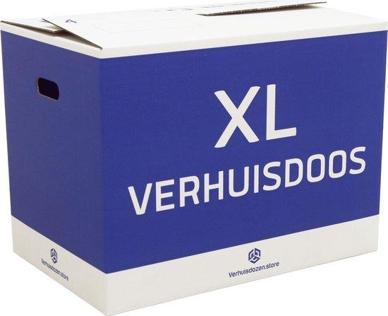 XL Verhuisdozen Professioneel - 10 stuks - 96 Liter - Zelfsluitend - Dubbel golf karton - Extra stevig