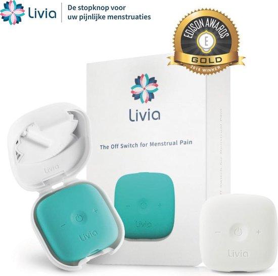 Livia Transcutaneous Electrical Nerve Stimulation (TENS) Turkoois, Wit