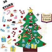 SPARCZ - Mini Kerstboom - Kerstboombeelden - Vilten kerstboom - Vilten kerstboom voor kinderen - Inclusief Speciaal Kerst E-book