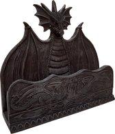 Brievenbak Draak Beeld - Brievenhouder fantasy gothic 20 cm briefhouder