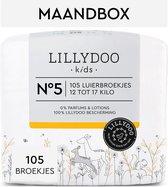 LILLYDOO luierbroekjes - Maat 5 (12-17 kg) - 105 Stuks - Maandbox
