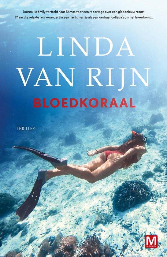 Boek cover Bloedkoraal van Linda van Rijn (Onbekend)
