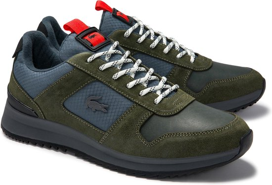 Lacoste Joggeur 2.0 0320 1 SMA Heren Sneakers - Khaki/Dk Grey - Maat 46