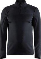 Craft Core Gain Midlayer Sportshirt Heren - Maat L