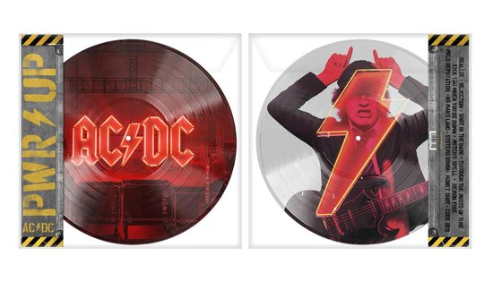 CD cover van Power Up (Picture Disc) van AC/DC