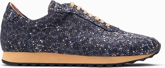 Paulo Bellini Sneaker Oristano Leather Blue.
