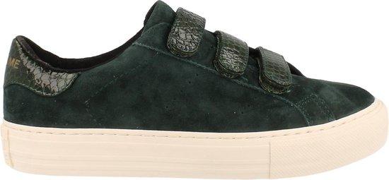 No Name Sneaker Laag Dames Trend Dierneprint - Groen | 39