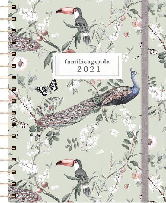 Afbeelding van Hobbit Familieagenda - A5 - Vogels - spiraal - 2021