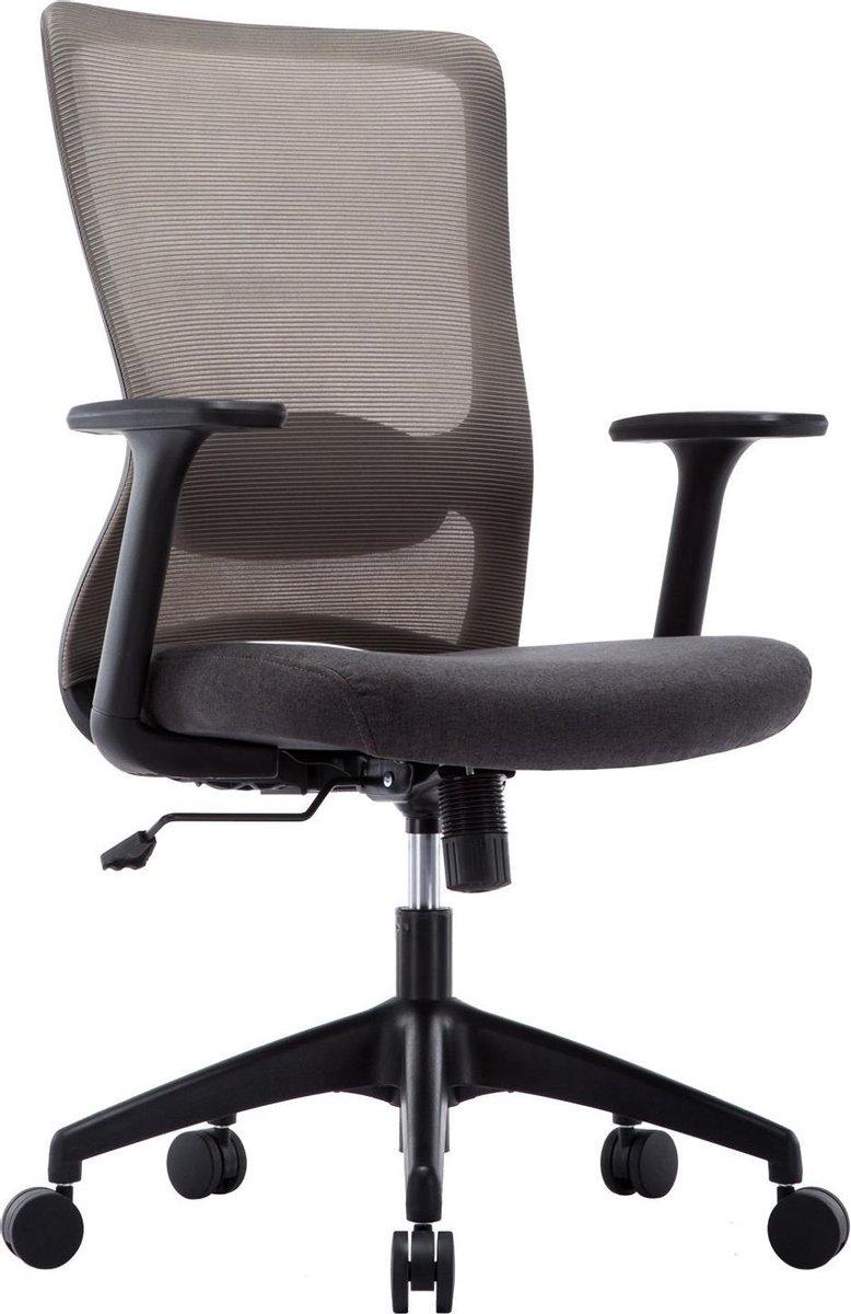 Milo Bureaustoel - Ergonomisch - Mesh - Kantoorstoelen - Verstelbaar - Directiestoel - Bureaustoelen