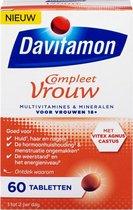 Davitamon Compleet Vrouw - Multivitamines & mineralen voor de vrouw - 60 tabletten