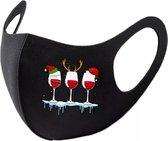 Mondkapje Kerst - Wasbaar mondkapje - Kerstcadeau - Mondkapje geschikt voor openbare ruimtes - Nova Design