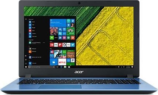 Acer Aspire 3 A315-51-32A2 - Azerty Laptop - 15.6-inch - Blauw